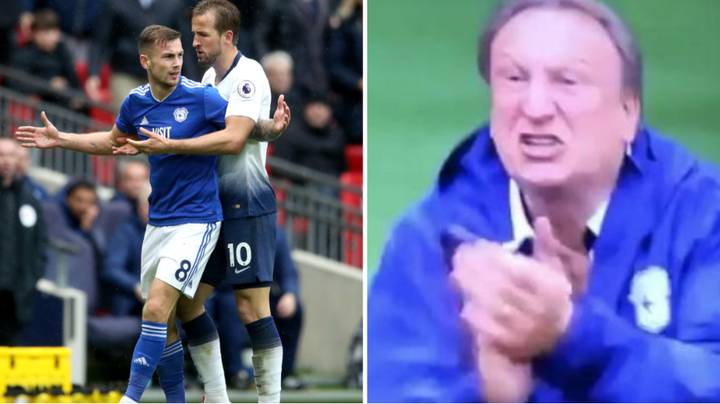 What Neil Warnock Screamed At Harry Kane After Joe Ralls Was Sent Off