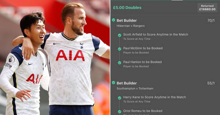 Punter Rakes In £20,000 After Impossible £5 Football Bet Comes Off