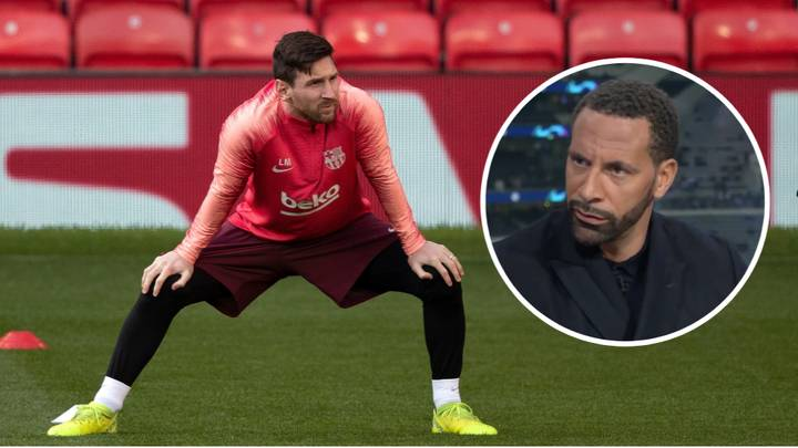 Rio Ferdinand Tells Manchester United How To Stop Lionel Messi In Champions League
