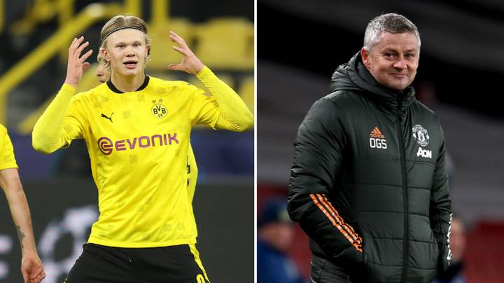 Alf Inge Haaland Refused To Rule Out Manchester United Move For Son Erling Haaland