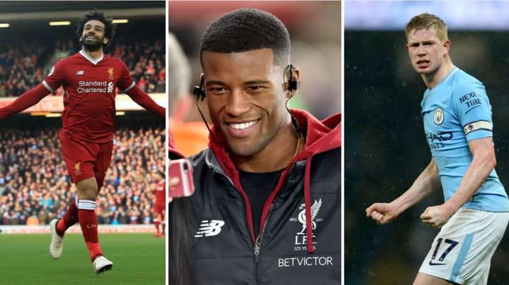 Liverpool's Georginio Wijnaldum Wades In On Player Of The Year Debate