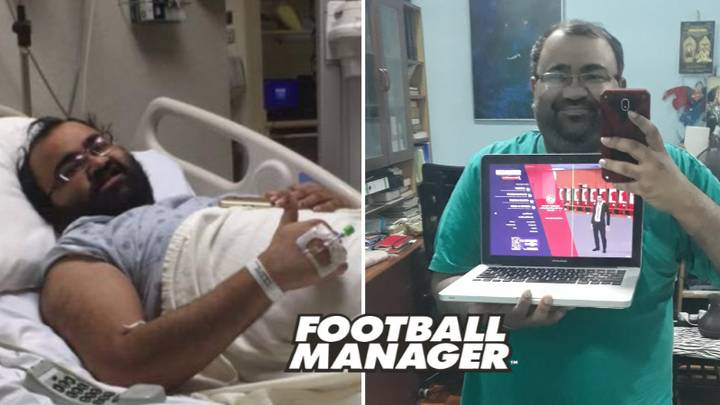 """Man Diagnosed With Rare Condition Left Doctors """"Amazed"""" After Playing Football Manager"""