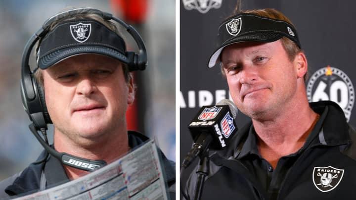 Jon Gruden Resigns As Las Vegas Raiders Head Coach Amid 2011 Email Scandal