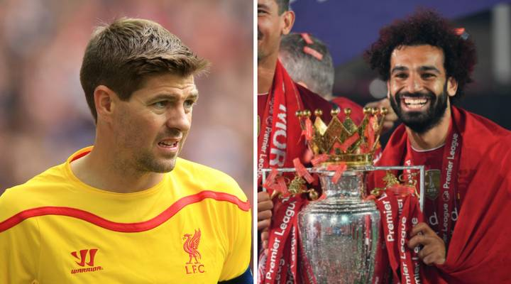 Fan Claims Mo Salah Should Be ABOVE Steven Gerrard In List Of Liverpool's Greatest-Ever Players