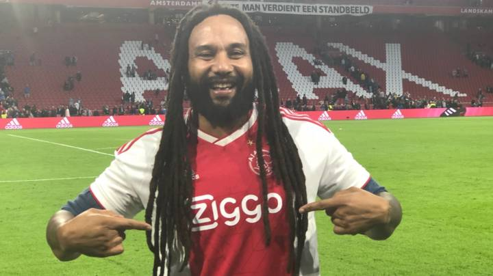 The Beautiful Moment Ajax Fans Sing 'Three Little Birds' Infront Of Bob Marley's Son