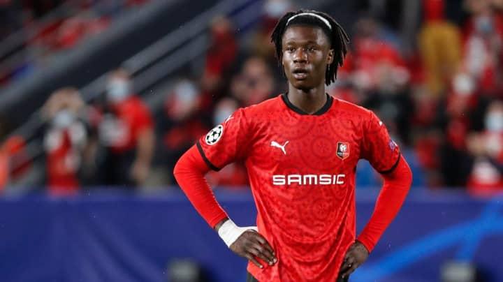 Man Utd And Liverpool In Transfer War Over Rennes Wonderkid Eduardo Camavinga