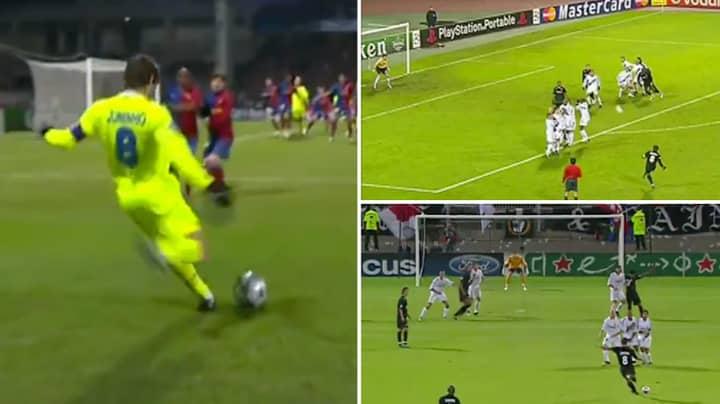 Juninho Pernambucano Scored So Many Ridiculous Free Kicks And He Made Them Look Effortless