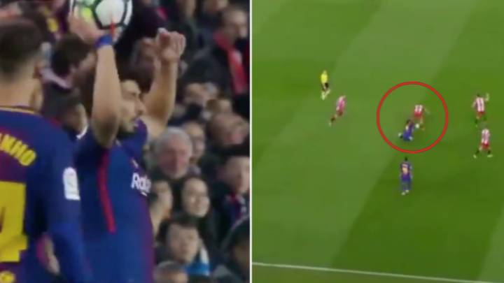 The Time Luis Suarez Spent Five Minutes Trying To Get A Yellow Card And Still Failed