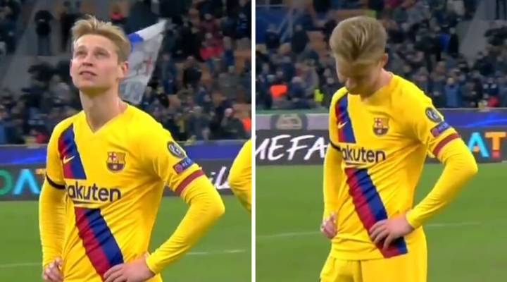Frenkie De Jong Was Heartbroken After Ajax Were Dumped Out Of The Champions League