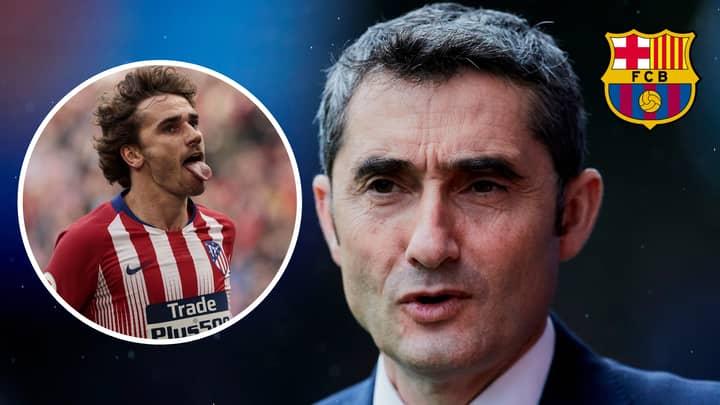 Ernesto Valverde Reveals Why Barcelona Haven't Signed Antoine Griezmann Yet