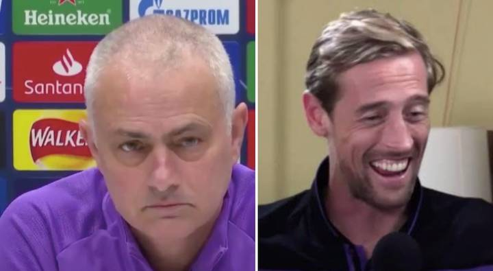 Peter Crouch Responds To Jose Mourinho's Joke About Signing Him