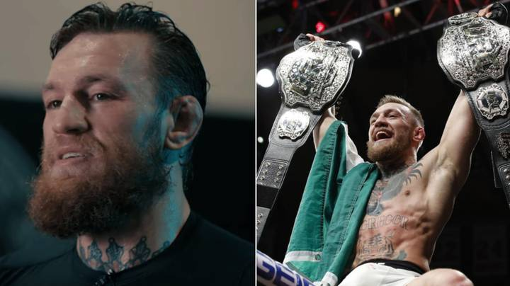 ‪Conor McGregor Hilariously Names His Top Four UFC GOATs In Brutally Honest Twitter Thread‬