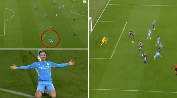 Jack Grealish Scores STUNNING Goal On Champions League Debut