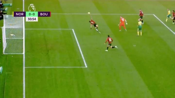 Bournemouth Defender Steve Cook Sent Off For Save Of The Season