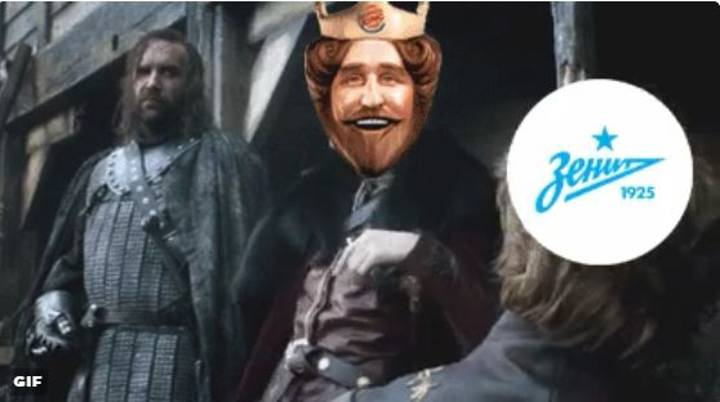 Zenit St. Burger King Issue Brilliant Response To Rumours