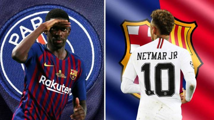 Barcelona 'Open Talks' For Neymar Return, With Ousmane Dembele Part Of Deal