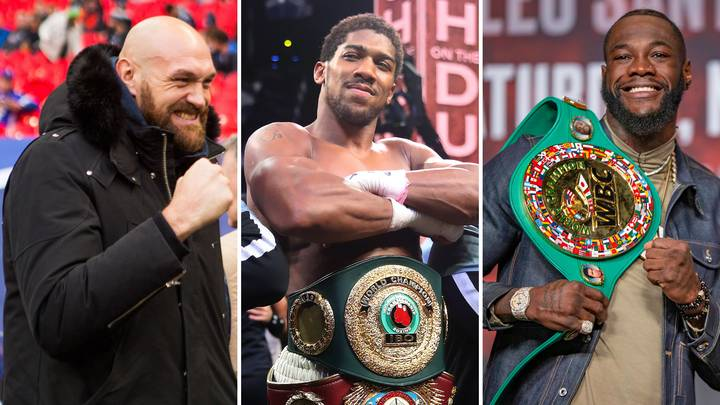 Anthony Joshua Sends Out A Message To Tyson Fury And Deontay Wilder