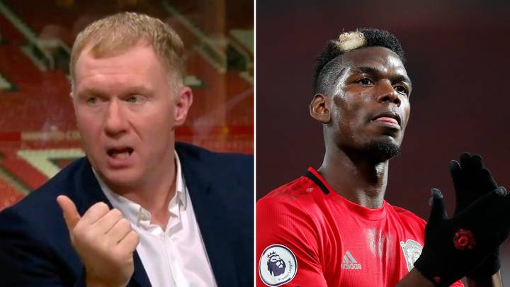 Paul Scholes Gives Brutal Assessment Of Paul Pogba's Manchester United Future