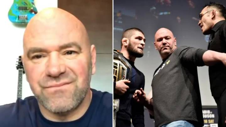 Dana White Unleashes Rant On 'Wimpy Media' When Discussing Khabib Nurmagomedov Vs Tony Ferguson
