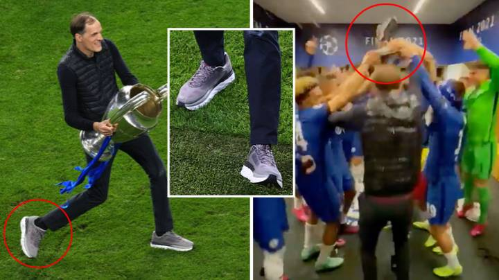 The Story Behind Thomas Tuchel's Lucky Pair Of Shoes In The Champions League Final