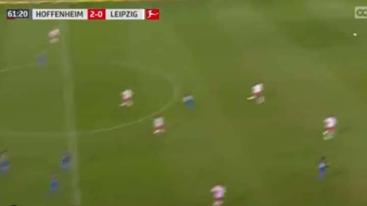 Gnabry Scores Brilliant Long Range Lob To Beat RB Leipzig