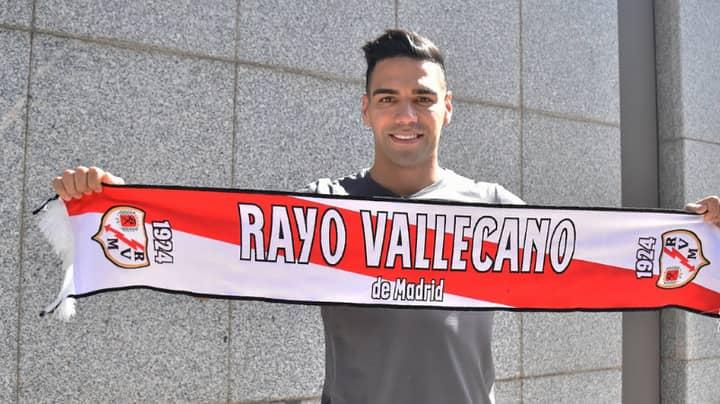 Radamel Falcao's Shirt Number At New Club Rayo Vallecano Is Just Plain Wrong