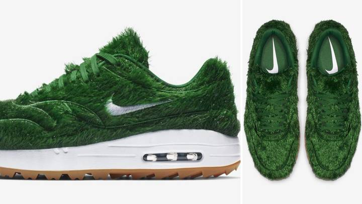 Nike Is Planning To Release Air Max 1 Golf Grass Shoes