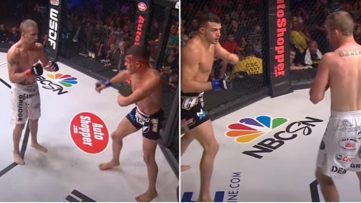 What Happened When Justin Gaethje Fought One-Armed Fighter Nick Newell For A World Title