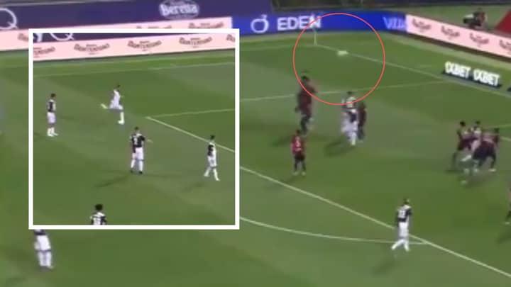 Cristiano Ronaldo Took His Worst Ever Free-Kick Vs Bologna Last Night