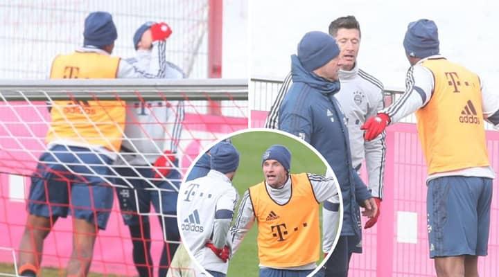 Bayern Munich Players End Up Fighting In Training After Leon Goretzka Challenge