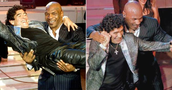 Diego Maradona Interviewed Mike Tyson On Live TV And It Was Gloriously Crazy