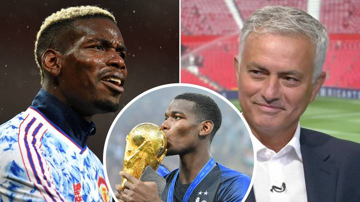 Jose Mourinho's Theory On Why Paul Pogba Prefers Playing For France Over Manchester United Is Spot On