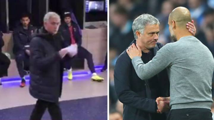 Jose Mourinho Called Manchester City 'A Team Of C***s' In Spurs Half-Time Team Talk