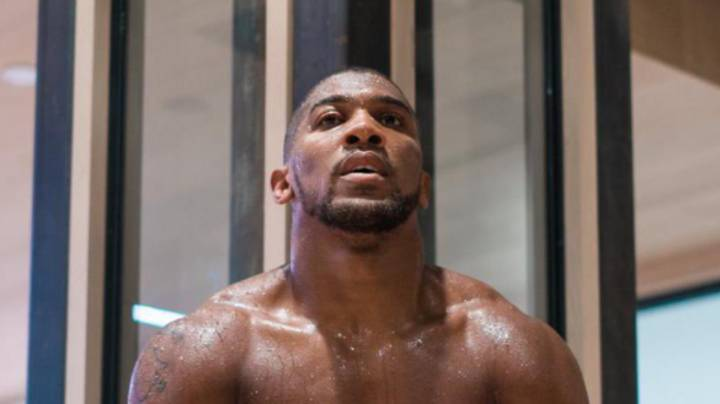 Anthony Joshua Is Looking Massive And Seriously Ripped Ahead Of Tyson Fury Fight