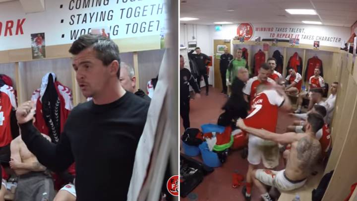 Documentary On Joey Barton's First Season At Fleetwood Looks Incredible