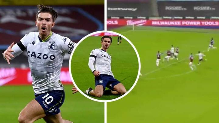 Jack Grealish Scores Sublime Goal After He's Compared To Eden Hazard