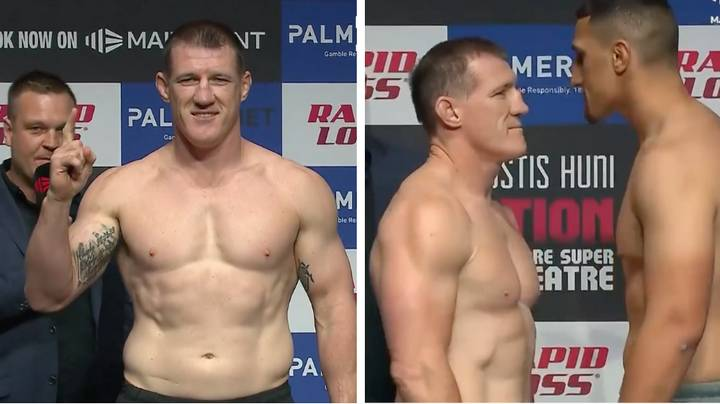 Paul Gallen Looks Pretty Stacked Ahead Of His Boxing Match Against Justis Huni