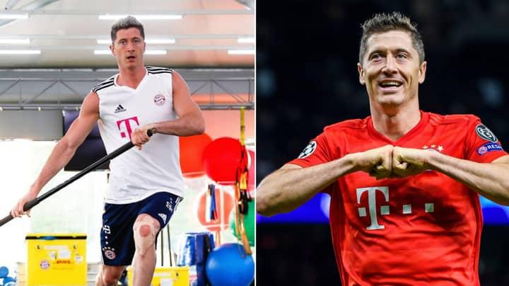 Bayern Munich Striker Robert Lewandowski Has Some Bizarre Superstitions