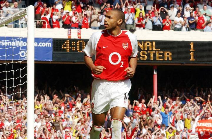 Arsenal Fan Claims Thierry Henry Is NOT The Premier League's 'Goat'
