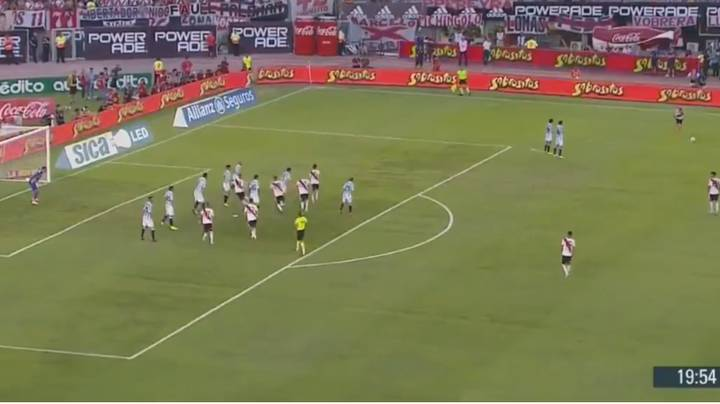 Juan Quintero Scores Direct Free-Kick Dubbed One Of The 'Greatest Of All Time'
