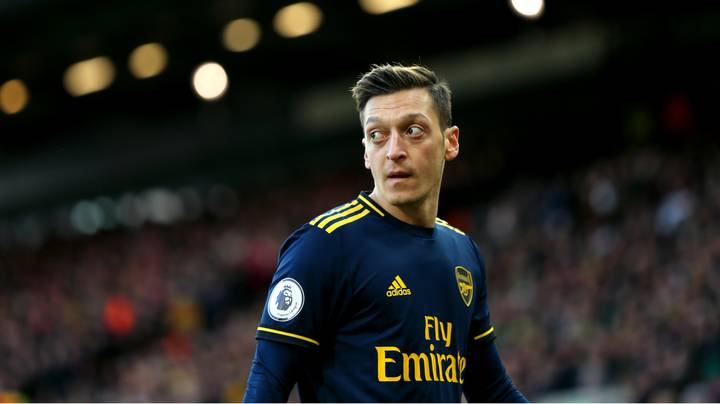 Arsenal Vs. Man City Pulled From Chinese TV After Mesut Ozil's Controversial Comments