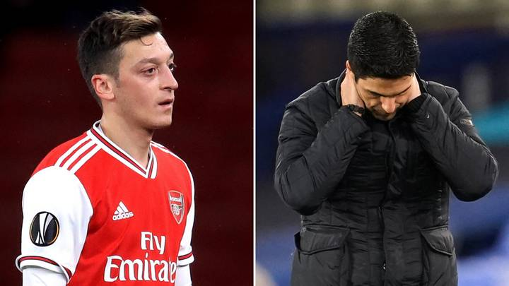 Arsenal Fans Think Mesut Ozil Has Aimed A Dig At Mikel Arteta With 'Most Underrated Player' Choice
