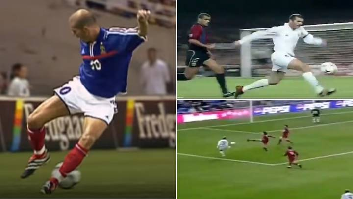 Incredible Video Proves Zinedine Zidane's First Touch Was A Gift From The Gods