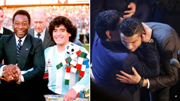 Cristiano Ronaldo Pays Tribute To Diego Maradona After His Sad Passing Aged 60