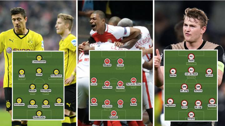 Who Are The Better Team: Dortmund In 2012, Monaco In 2016 Or Ajax In 2019?