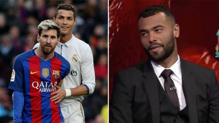 Ashley Cole Asked Who's Tougher To Face Between Cristiano Ronaldo And Lionel Messi