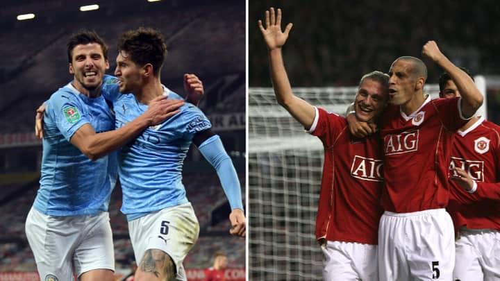 John Stones And Ruben Dias Have Been Compared To Nemanja Vidic And Rio Ferdinand