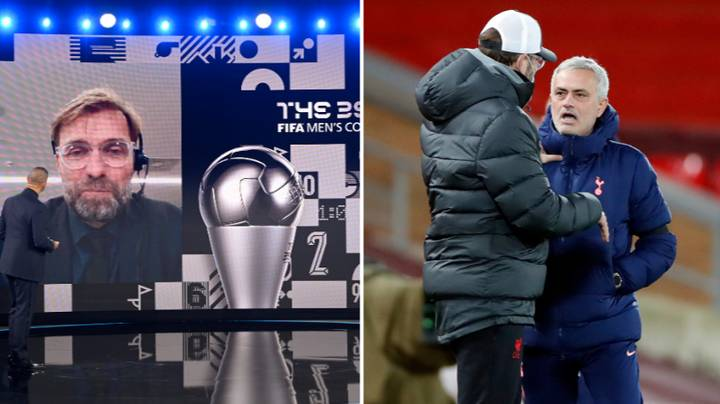 Jose Mourinho Responds To Jurgen Klopp's Manager Of The Year Award