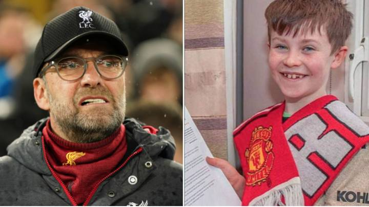 Liverpool Have Lost Four Times Since Manchester United-Supporting Kid Wrote To Jurgen Klopp