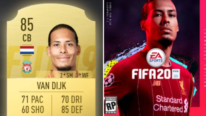 Van Dijk Thinks He Should Be The Highest Rated Premier League Defender On FIFA 20